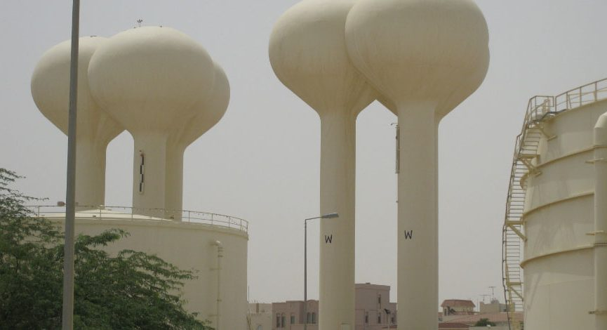 """Elevated Storage Tower"" ""West Riffa"" ""Water Tower"""